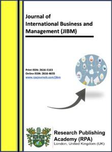 Journal of International Business and Management (JIBM)